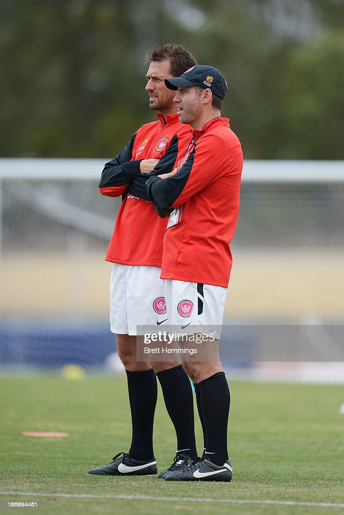 Western Sydney Wanderers Training & Press Conference