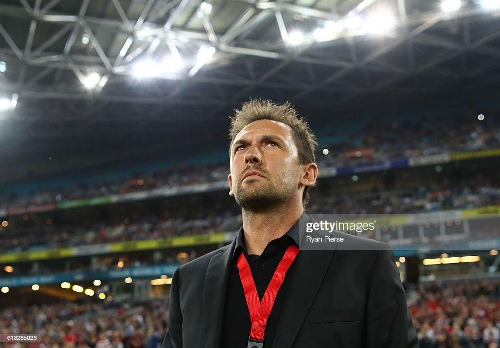 A-League Rd 1 - Western Sydney v Sydney FC : News Photo