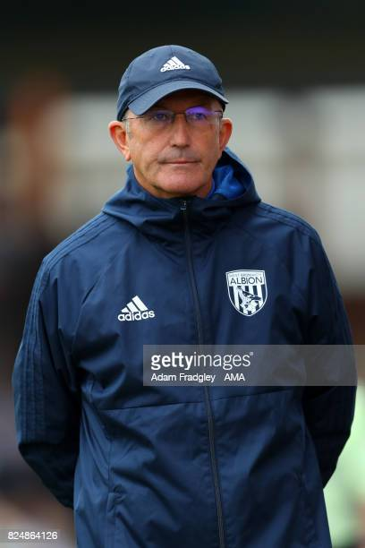 Tony Pulis head coach / manager of West Bromwich Albion during the Pre Season Friendly match between Bristol Rovers and West Bromwich Albion at...