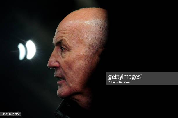Tony Pulis Manager of Sheffield Wednesday during the Sky Bet Championship match between Swansea City and Sheffield Wednesday at the Liberty Stadium...