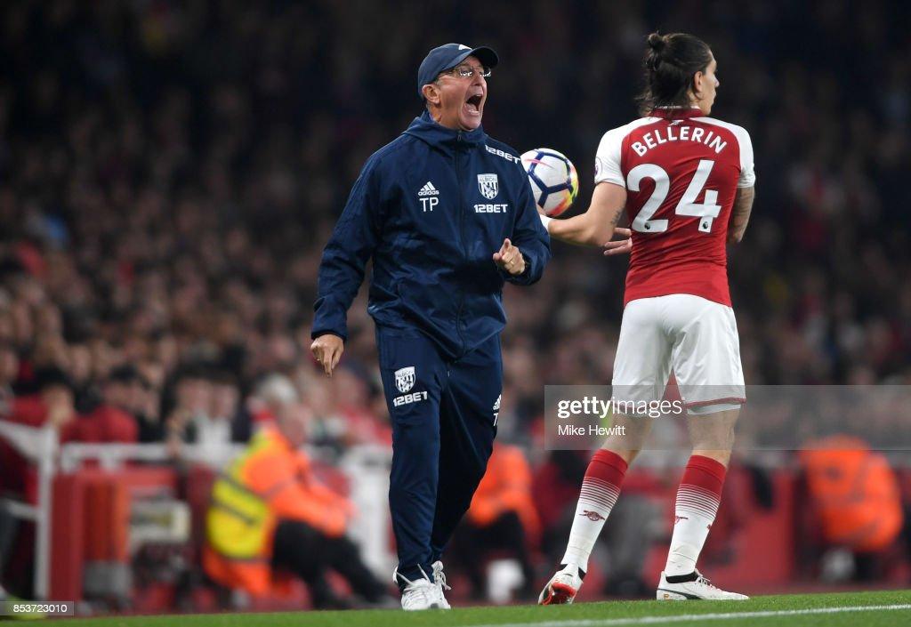 Arsenal v West Bromwich Albion - Premier League : News Photo
