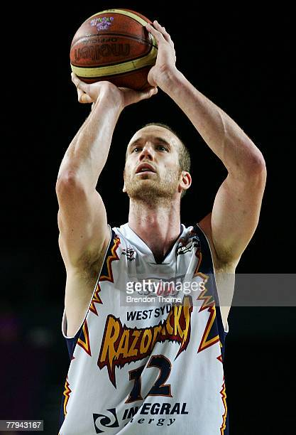 Tony Rampton of the Razorbacks in action during the round nine NBL match between the Sydney Kings and the West Sydney Razorbacks at the Sydney...