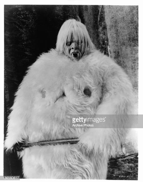 Tony Randall as The Abominable Snowman in a scene from the film '7 Faces Of Dr Lao' 1964