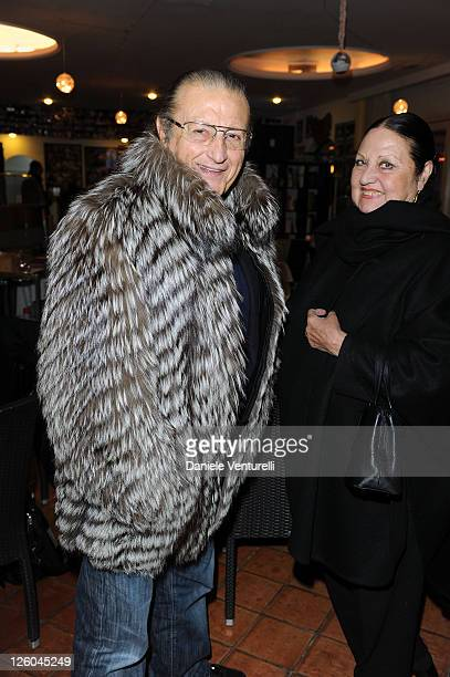 Tony Renis and Elettra Renis attend the first day of the 15th Annual Capri Hollywood International Film Festival on December 27 2010 in Capri Italy