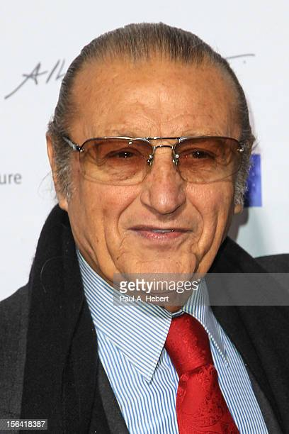 Tony Renis arrives to the 2012 Cinema Italian Style Opening Night Gala Screening Of Caesar Must Die at the Egyptian Theatre on November 14 2012 in...