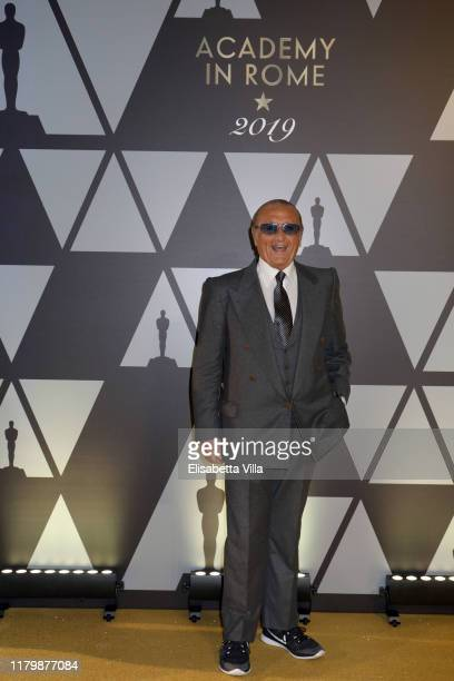 Tony Renis attends Academy of Motion Picture Arts and Sciences and Istituto Luce Cinecittà Event at Palazzo Barberini on October 08 2019 in Rome Italy