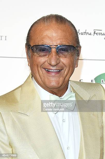Tony Renis attends 'Celebrity Fight Night In Italy' Gala at the Palazzo Vecchio on September 7 2014 in Florence Italy