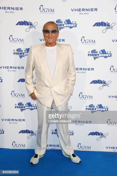 Tony Renis attends Celebrity Fight Night on September 10 2017 in Rome Italy