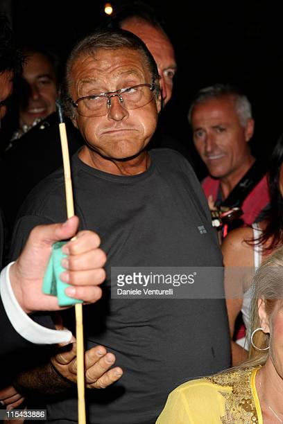 Tony Renis attends day two of the Ischia Global Film And Music Festival on July 10 2007 in Ischia Italy