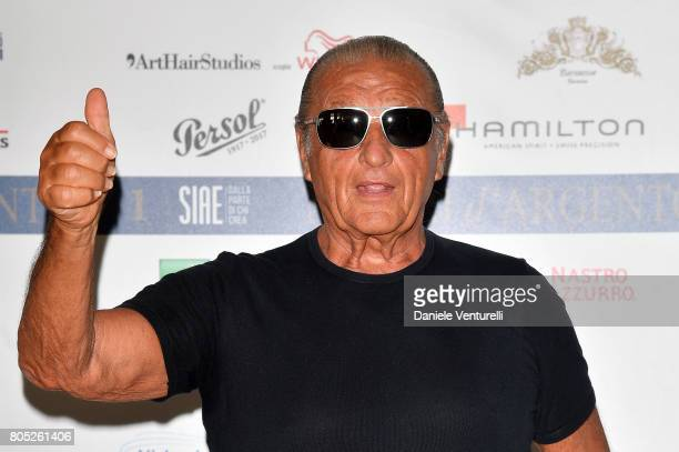 Tony Renis attends Nastri D'Argento 2017 Press Conference on July 1 2017 in Taormina Italy