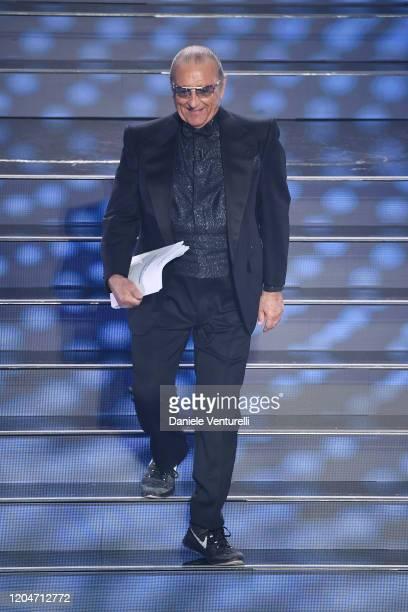 Tony Renis attends the 70° Festival di Sanremo at Teatro Ariston on February 07 2020 in Sanremo Italy