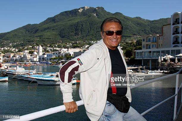 Tony Renis attends the Film and Musicischia Global Fest on July 8 2007 in Ischia Italy