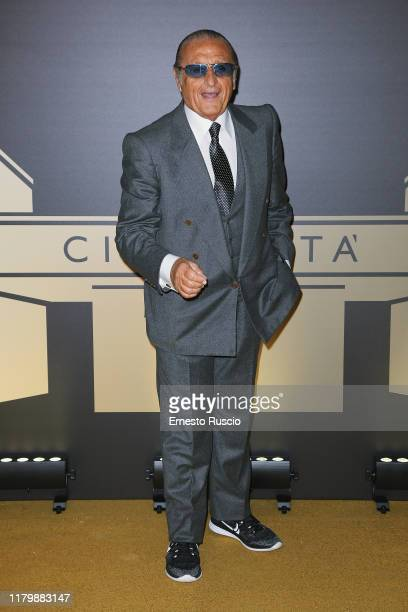 Tony Renis attends the golden carpet for the Academy of Motion Picture Arts and Sciences event at Palazzo Barberini on October 08 2019 in Rome Italy