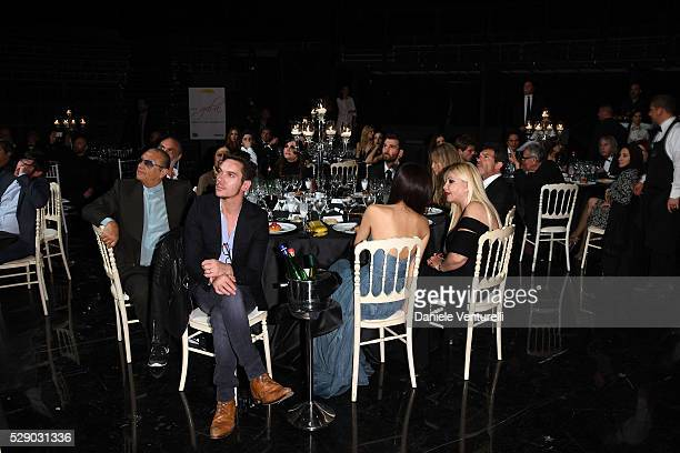 Tony Renis Producer Andrea Iervolino Nicole Kimpel Antonio Banderas producer Lady Monika Bacardi Jonathan Rhys Meyers and Mara Lane attend AMBI GALA...