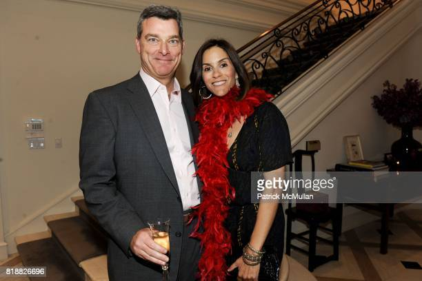 Tony Ressler and Jami Gertz attend The 25th Annual LACMA Collectors Committee Weekend An Intimate Dinner at the Home of Ann Colgin and Joe Wender at...