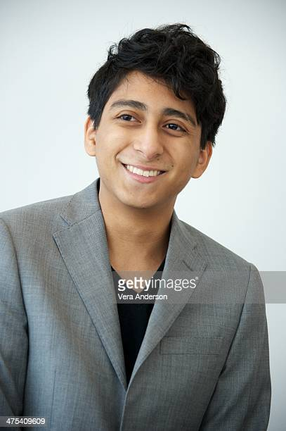Tony Revolori at The Grand Budapest Hotel Press Conference at the Crosby Hotel on February 26 2014 in New York City