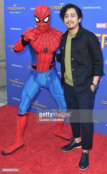Tony Revolori attends the Miami premiere of SpidermanMan Homecoming at AMC Sunset Place on June 20 2017 in Miami Florida