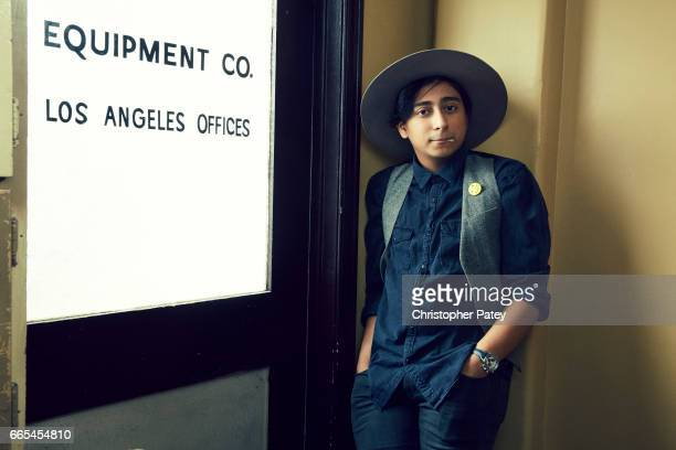 Tony Revolori is photographed for The Hollywood Reporter on October 14 2016 in Los Angeles California Published Image