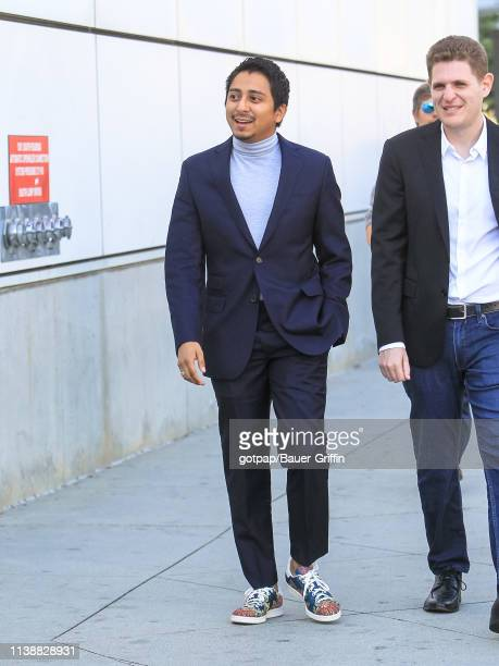 Tony Revolori is seen on April 22 2019 in Los Angeles California