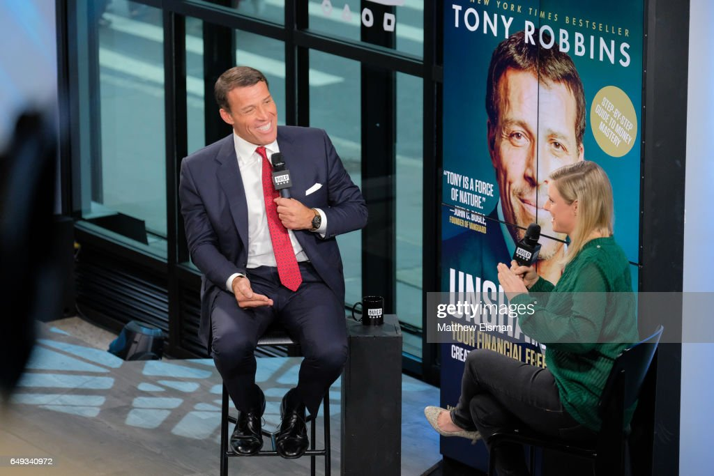"Build Series Presents Tony Robbins Discussing ""UNSHAKEABLE: Your Financial Freedom Playbook"" : News Photo"