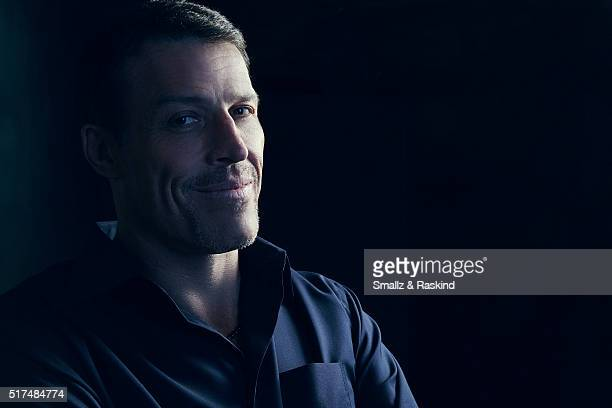 Tony Robbins poses for a portrait in the Getty Images SXSW Portrait Studio Powered By Samsung on March 13, 2016 in Austin, Texas.