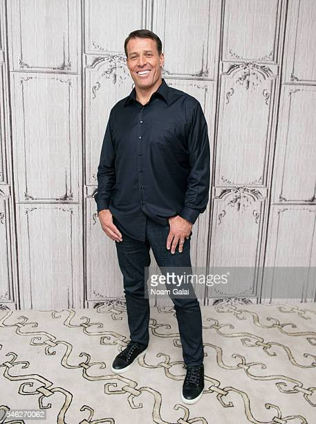 """Tony Robbins visits AOL Build to discuss """"I Am Not Your Guru"""" at AOL Studios In New York on July 11, 2016 in New York City."""