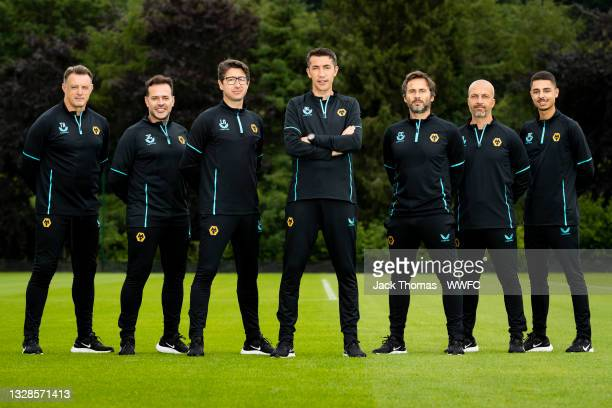 Tony Roberts, Goalkeeper Coach of Wolverhampton Wanderers, Jhony Conceicao, Head of coaching strategy of Wolverhampton Wanderers, Luis Nascimento,...