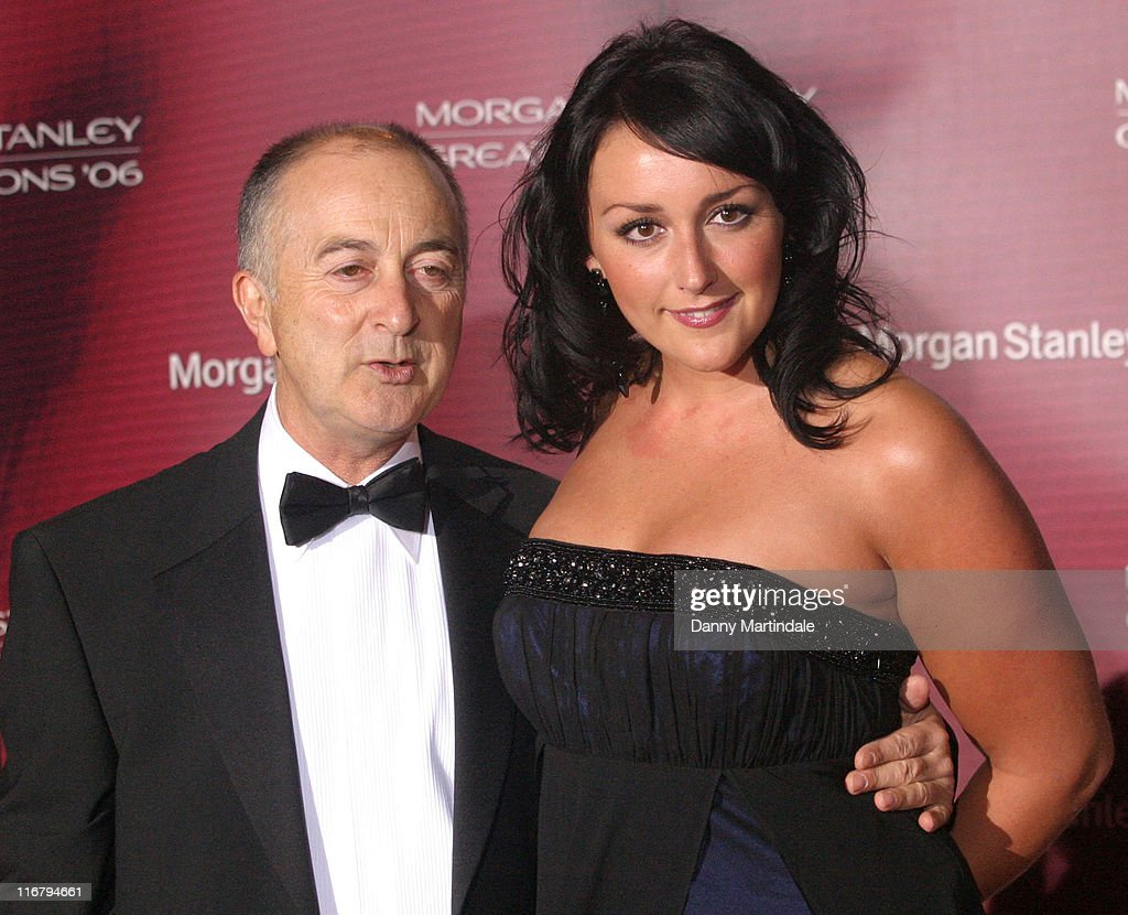 Tony Robinson and Guest during Great Britons 2006 - Inside Arrivals at Guildhall in London, Great Britain.