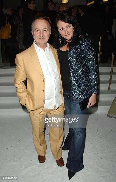 Tony Robinson and Louise Hobbs at the Curzon Mayfair in London United Kingdom