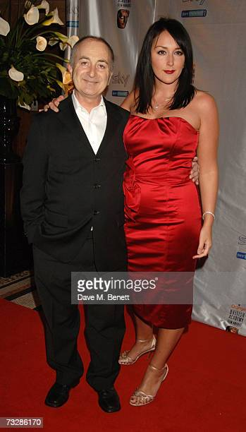 Tony Robinson and Louise Hobbs attend the Inaugural BAFTA Nominees Reception party at the Natural History Museum on February 10 2007 in London England