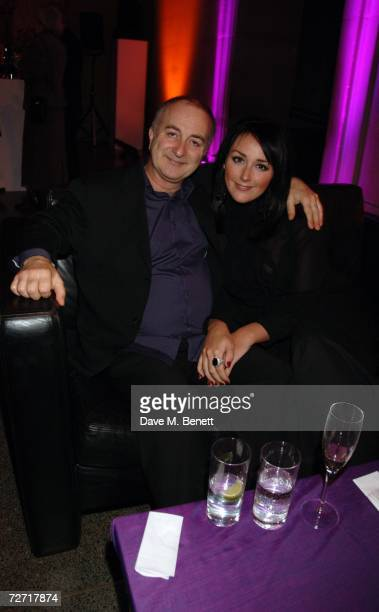Tony Robinson and Louise Hobbs attend the Turner Prize at Tate Britain on December 4 2006 in London England