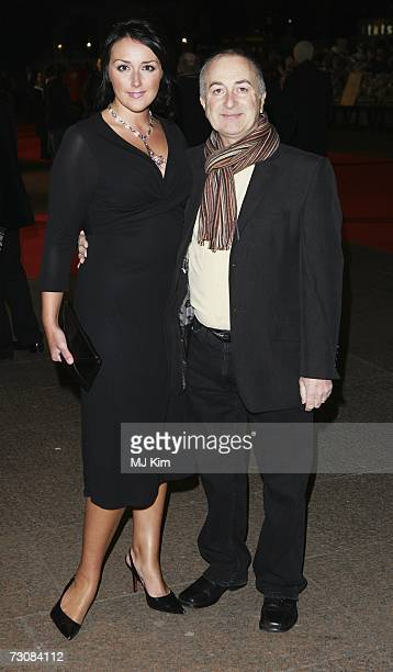 Tony Robinson and Louise Hobbs attend the UK premiere of Blood Diamond held at the Odeon Leicester Square on January 23 2006 in London England