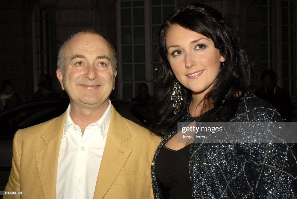 Tony Robinson and Louise Hobbs during Terry Pratchett's 'Hogfather' TV Premiere - Outside Arrivals at Curzon Mayfair in London, Great Britain.