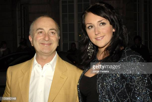 Tony Robinson and Louise Hobbs during Terry Pratchett's Hogfather TV Premiere Outside Arrivals at Curzon Mayfair in London Great Britain