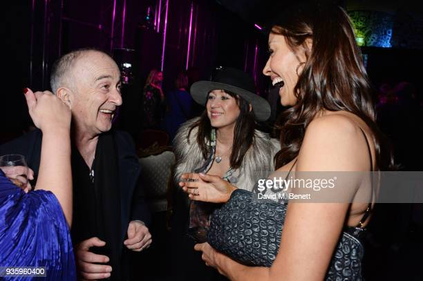 Tony Robinson Debbi Clark and Melanie Sykes attend The Perfumer's Story evening of Scentsory delights hosted by Aures London Azzi Glasser at...