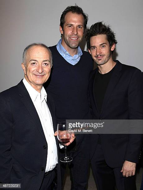 Tony Robinson Greg Rusedski and Will Kemp attend the Press Night party for the Royal Opera House production of The Wind in the Willows at the...