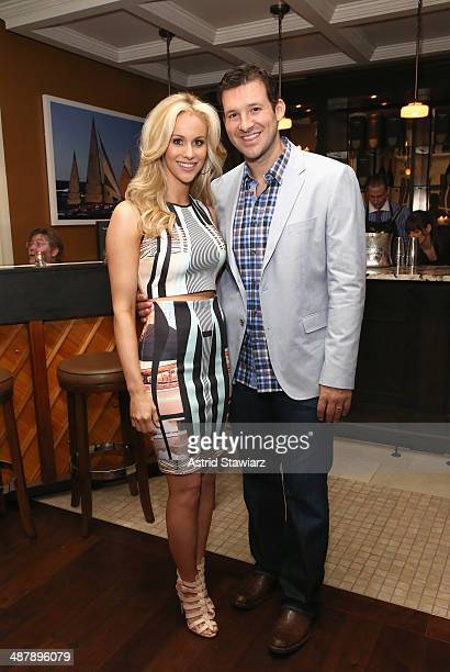 Tony Romo and wife Candice Crawford attend the Dom Perignon and Eric Podwall host of the evening before The White House Correspondents' Dinner at...