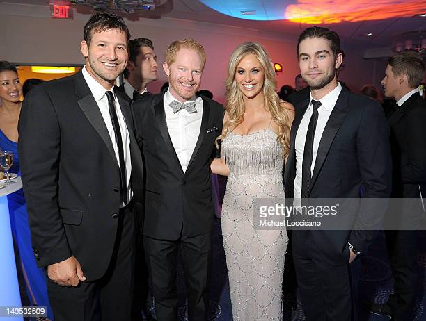 Tony Romo Jesse Tyler Ferguson Candice Crawford and Chace Crawford attend TIME/PEOPLE/FORTUNE/CNN White House Correspondents' Association Dinner...