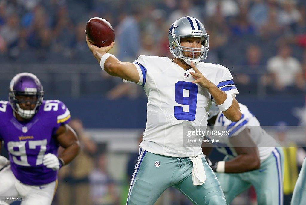 Minnesota Vikings v Dallas Cowboys : News Photo