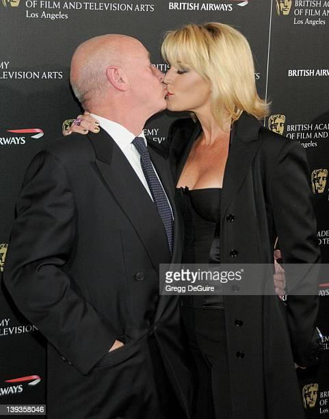 Tony Scott and Donna W Scott arrive at the 19th Annual BAFTA Los Angeles Britannia Awards at the Hyatt Regency Century Plaza on November 4 2010 in...