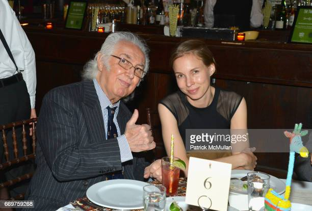 Tony Shafrazi and guest attend The Turtle Conservancy's 4th Annual Turtle Ball at The Bowery Hotel on April 17 2017 in New York City