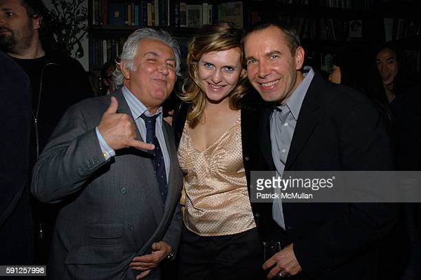 Tony Shafrazi Justine Koons and Jeff Koons attend Preview of EDUN's Premier Autumn/Winter 2005 Collection Hosted by Ali Bono and Rogan at The...