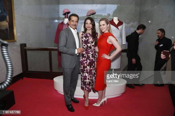 Tony Shalboub Marin Hinkle and Rachel Brosnahan attend the Making Maisel Marvelous featuring Amazon Prime Original The Marvelous Mrs Maisel at The...