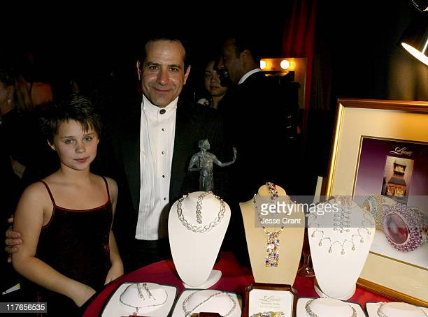 Tony Shalhoub and daughter Sophie with Leon's Fine Jewelry