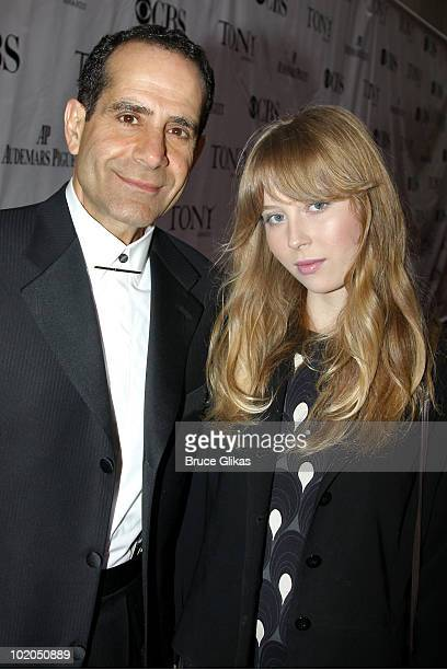 Tony Shalhoub and Josie Lynn Adams attend the 64th Annual Tony Awards at Radio City Music Hall on June 13 2010 in New York City