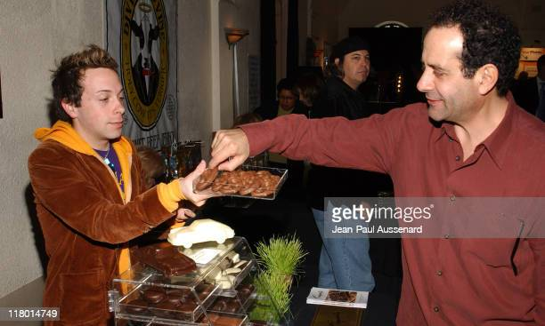 Tony Shalhoub at Comparte's Chocolatier during Silver Spoon PreOscar Hollywood Buffet Day One at Private Residence in Los Angeles California United...