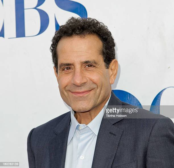 Tony Shalhoub attends CBS Television Studios 1st annual national 'TV Dinner Night' for new comedies at CBS Studios on September 10 2013 in Studio...