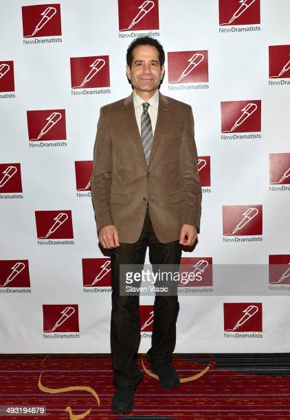 Tony Shalhoub attends New Dramatists 65th annual ppring luncheon at The New York Marriott Marquis on May 22 2014 in New York City