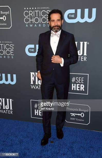 Tony Shalhoub attends the 25th Annual Critics' Choice Awards at Barker Hangar on January 12 2020 in Santa Monica California