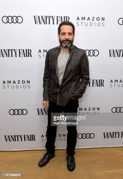 Tony Shalhoub attends Vanity Fair Amazon Studios and Audi Celebrate The 2020 Awards Season at San Vicente Bungalows on January 04 2020 in West...
